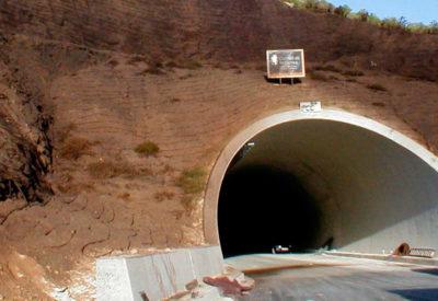 Geotextil-tuneles