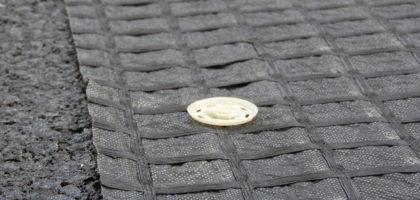 Refuerzo y prevención de fisuras de la CV-797 de la Font Roja con Geomallas