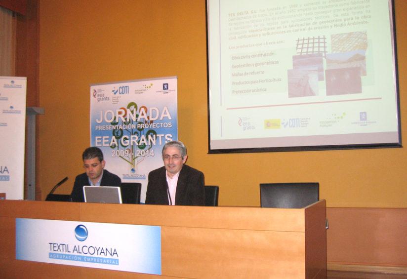Texdelta comprometida con la innovación: Proyectos EEA Grants